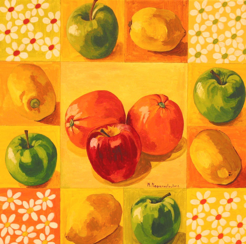 Frutas y margaritas