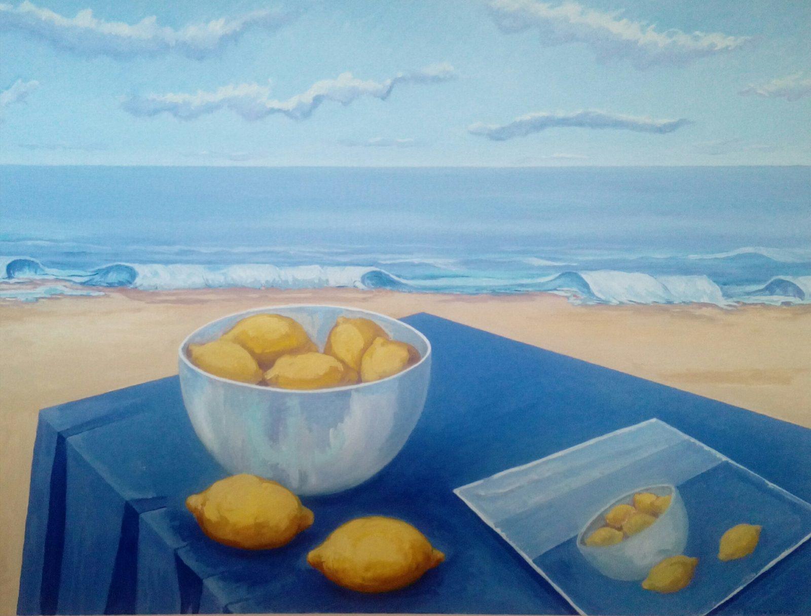 Pintando limones